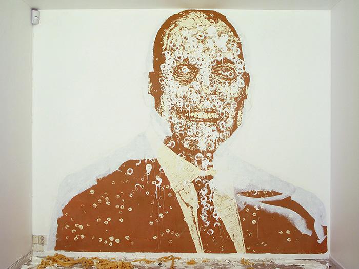 Up Against the wall - Tabula Rasa, CocaCola - Gallery Konstepidemin 2010