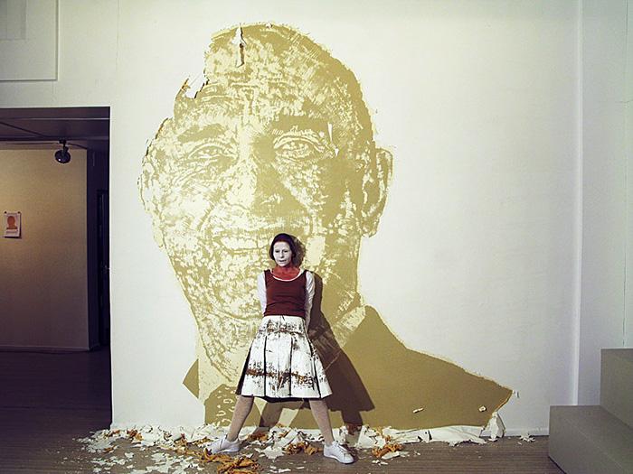 Up Against the wall - Tabula Rasa, Gallery Konstepidemin 2010