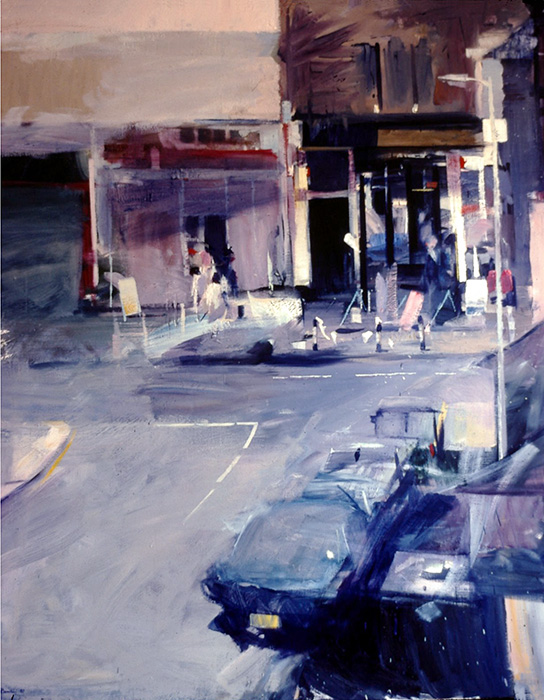 Oakhust Grove 1981. Oil on canvas 132x112cm