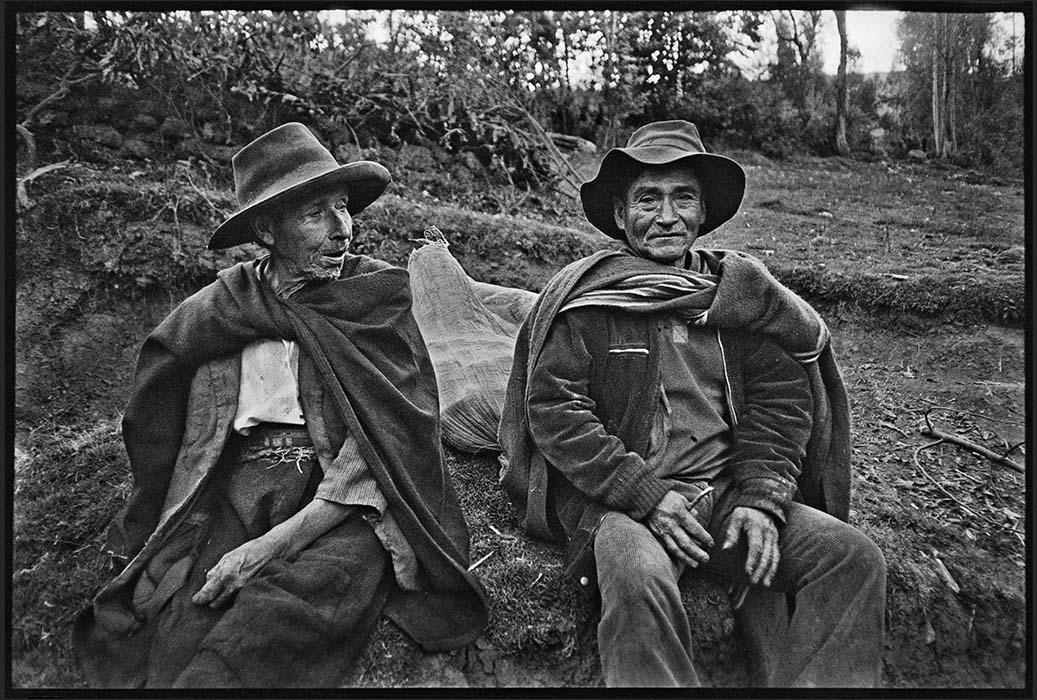 Two men. San Marcos, Peru 1982