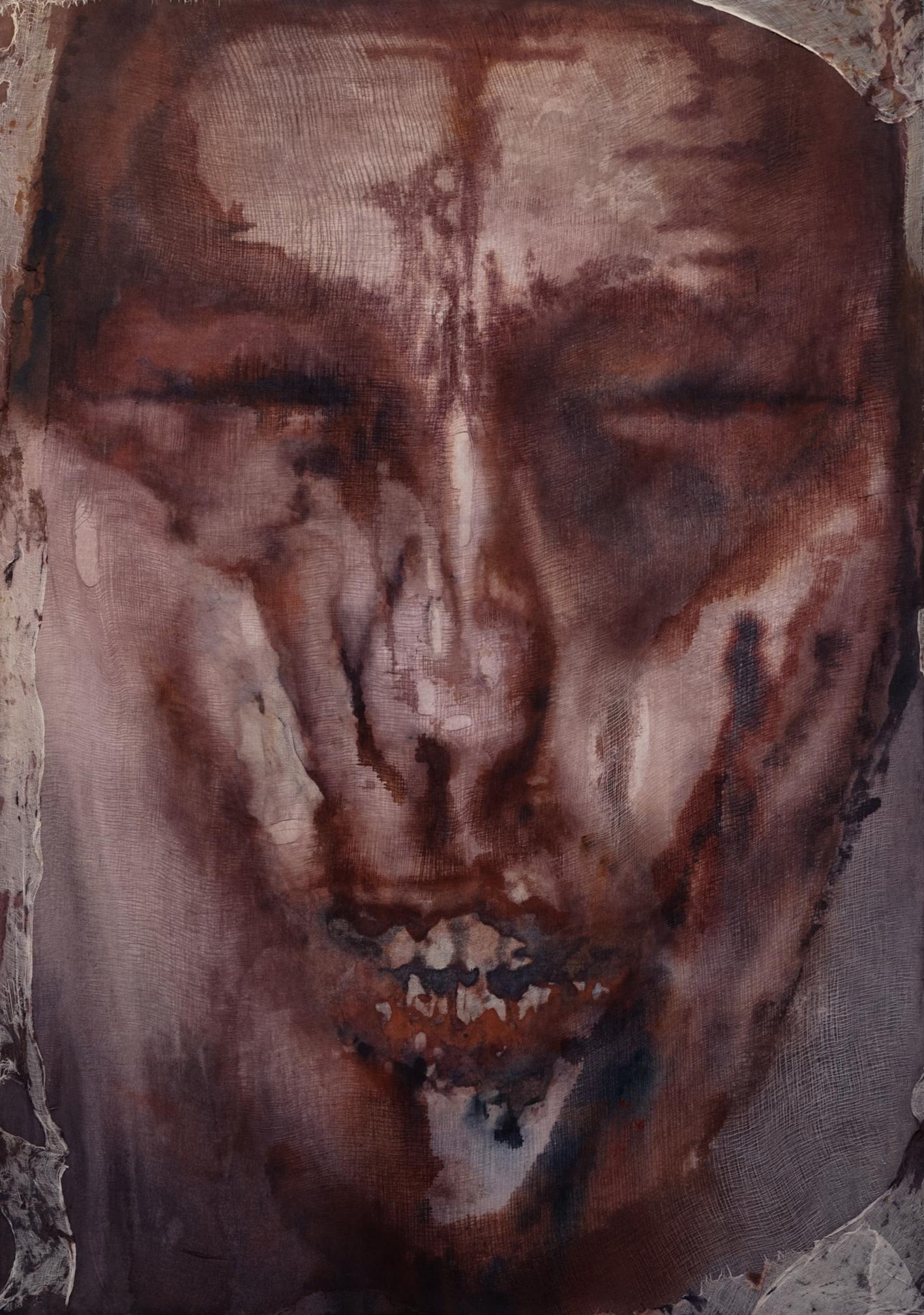 Mask. Acrylic on canvas. Mallorca 163x117cm